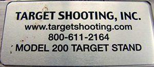 TargetShooting inc label